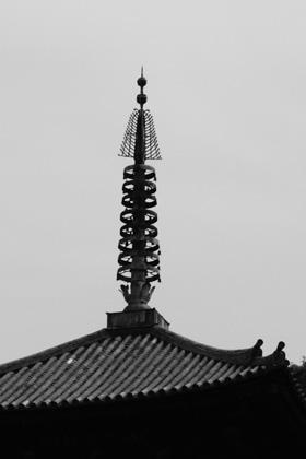 当麻寺東塔