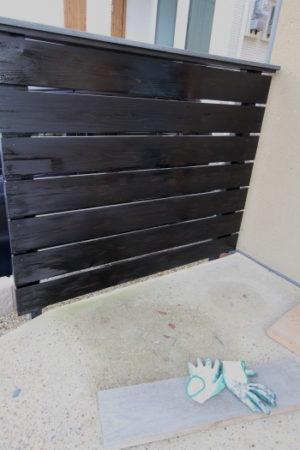 板塀メンテナンス