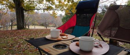 馬見丘陵公園でchearing lunch